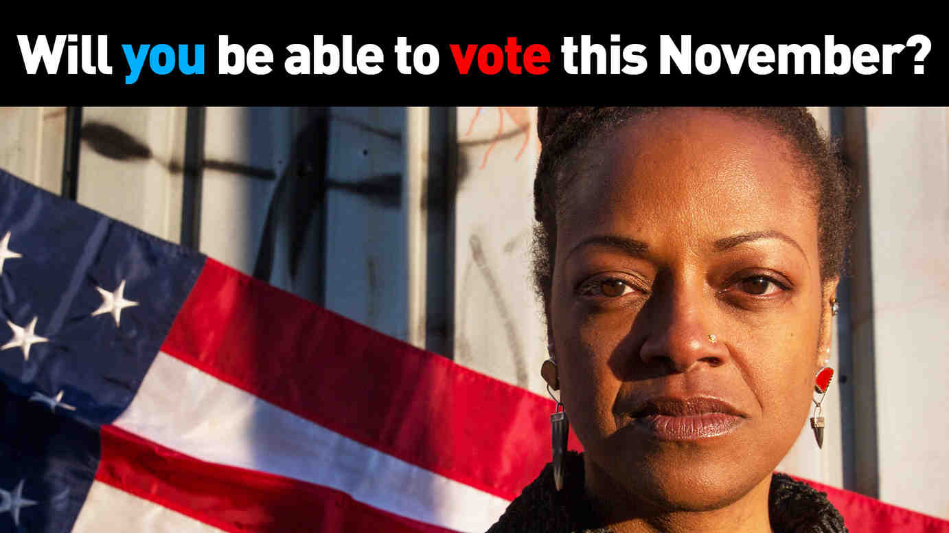 Will you be able to vote this November?