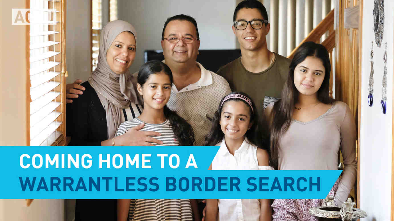 Coming Home To A Warrantless Border Search