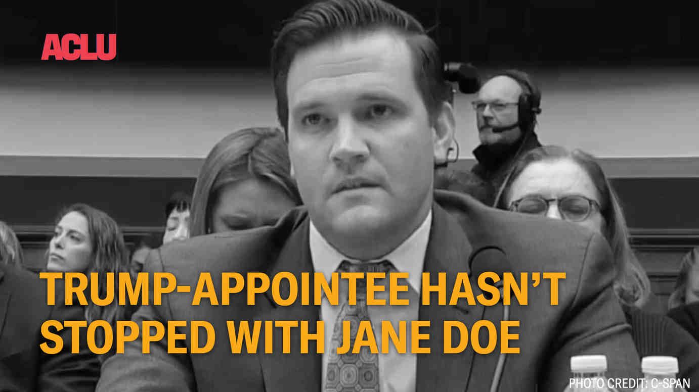 Scott Lloyd Hasn't Stopped With Jane Doe