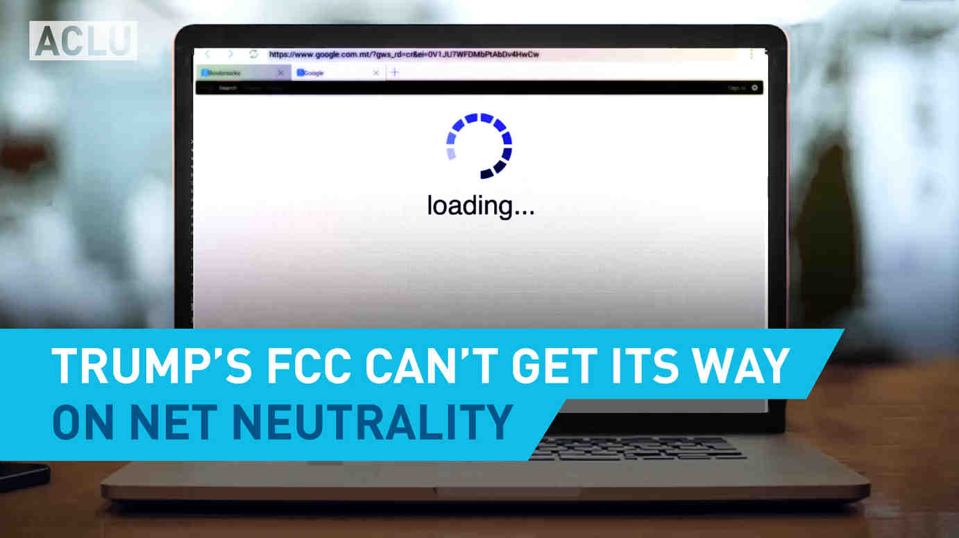 Trump's FCC Can't Get Its Way on Net Neutrality
