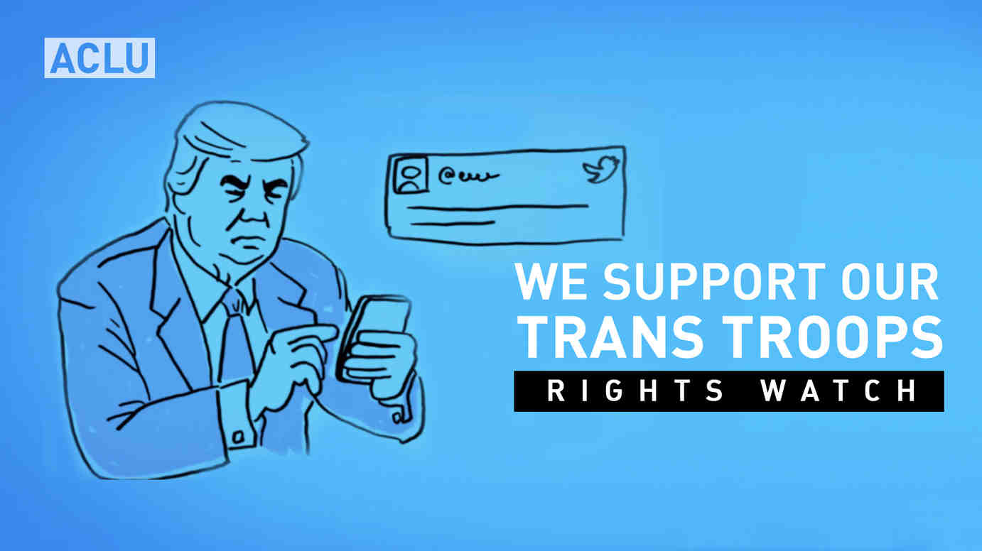 We Support our Trans Troops: Right Watch