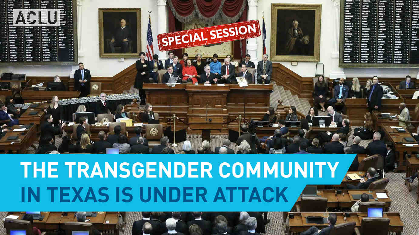 The Trans Community In Texas Is Under Attack