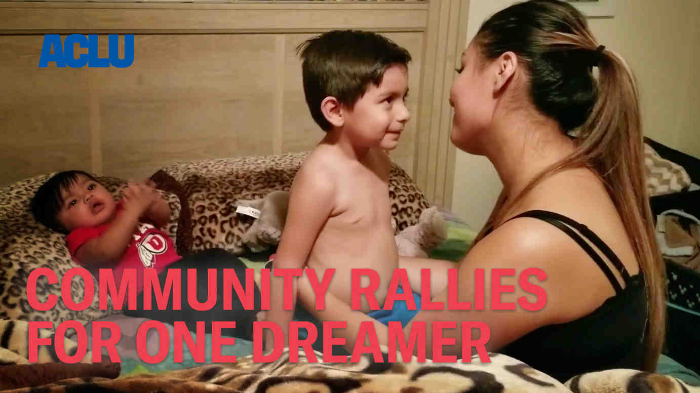 Community Rallies For One Dreamer