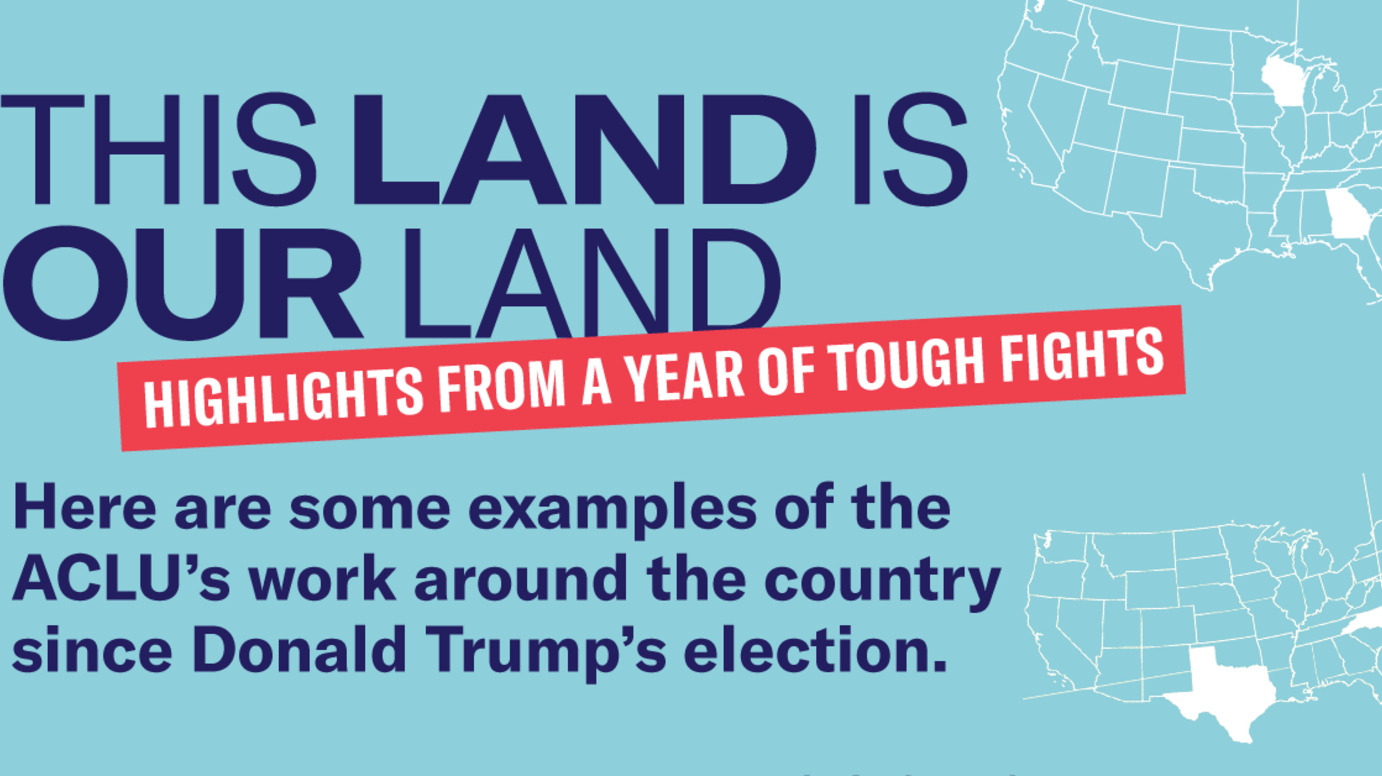 This Land Is Our Land: Highlights From a Year of Tough Fights