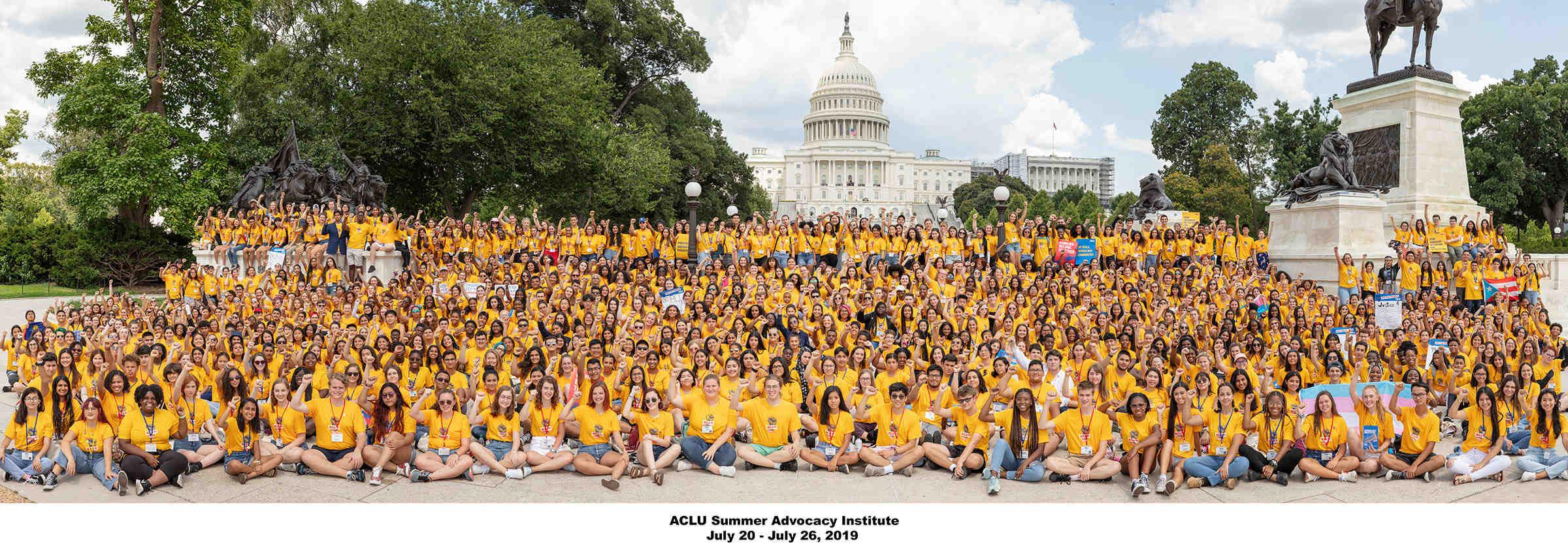 Summer Institute Participants Group Photo