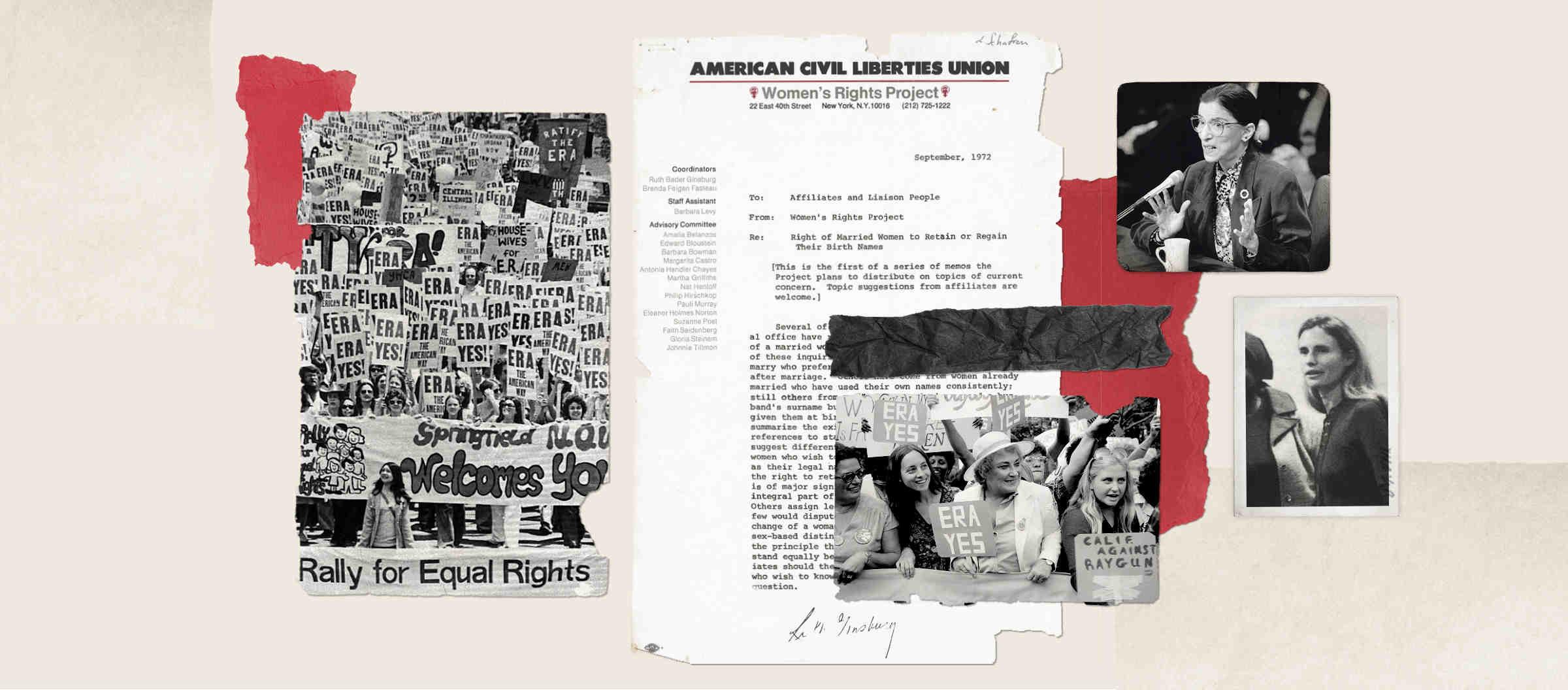 The ACLU, Ruth Bader Ginsburg, and Me