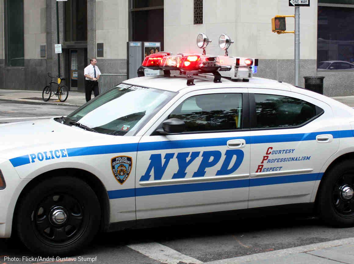 Unit Citation Bar of the New York City Police Dept.