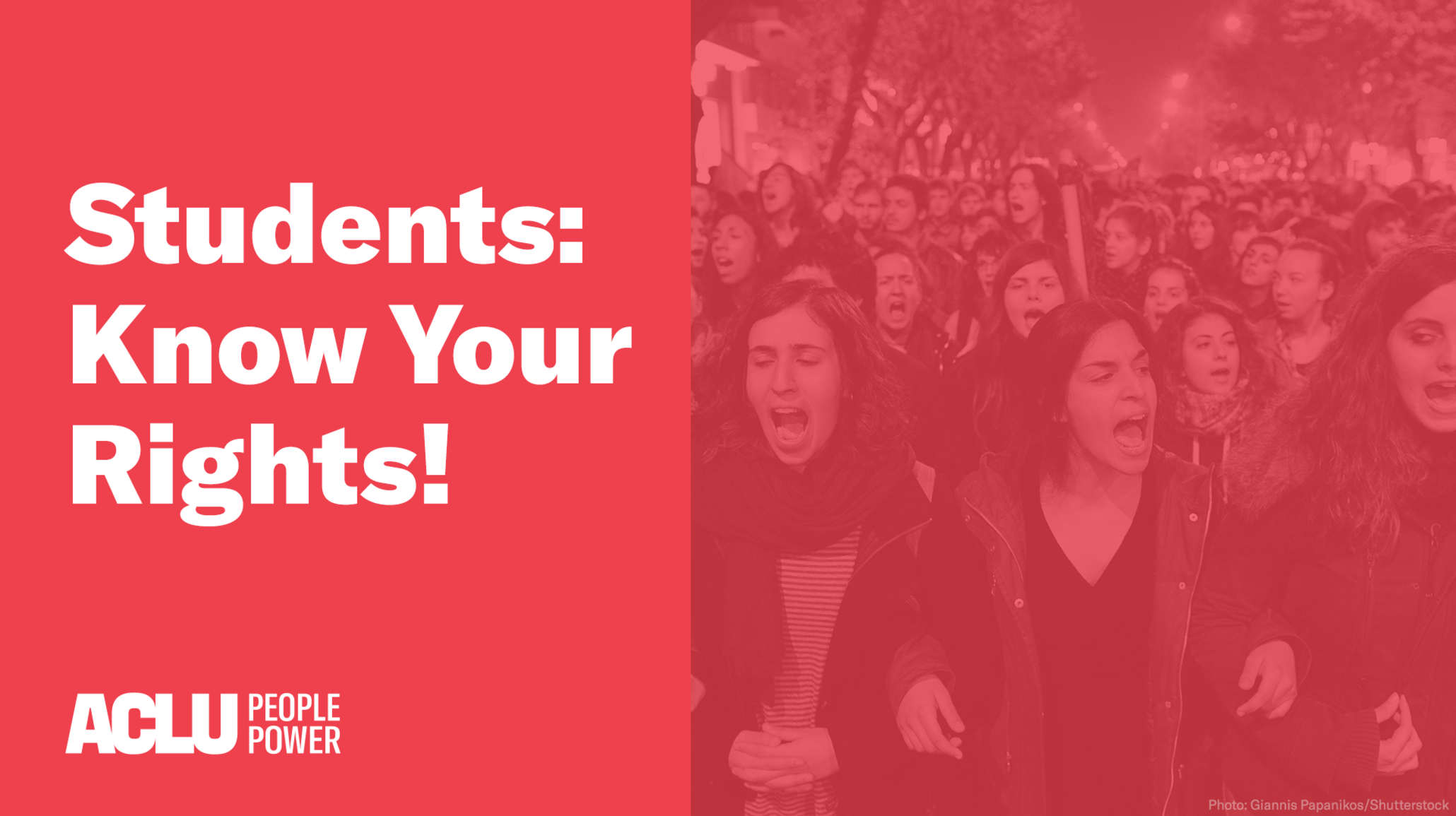 Students Rights Speech Walkouts and Other Protests