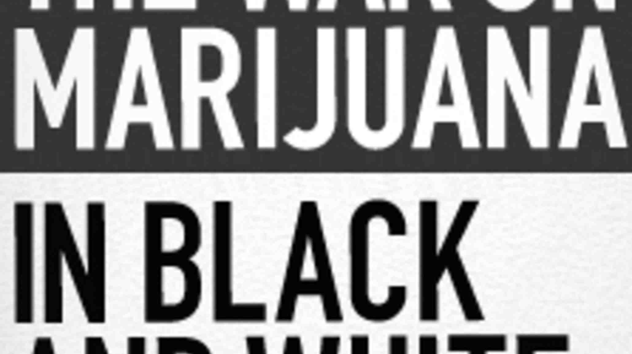 Black And White Discrimination The war on marijuana in black and white ...