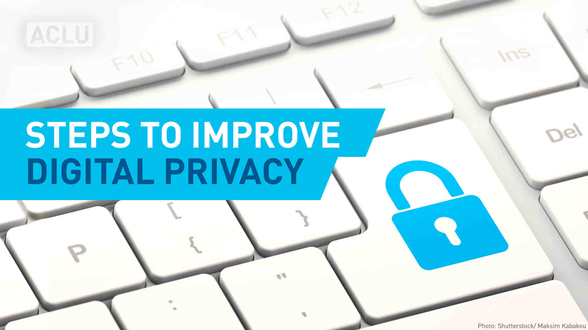 Steps to improve digital privacy