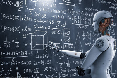 Robot solving problems